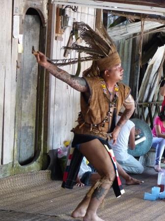 la grande fête de Gawai