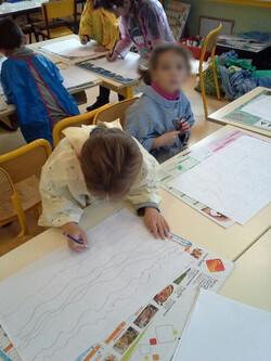 "CP / Atelier ""art"" visuels"" du mercredi"