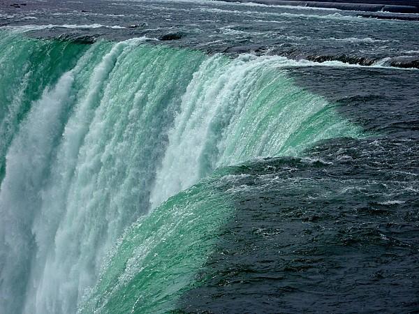 Niagara Falls Canadian Falls vues de près