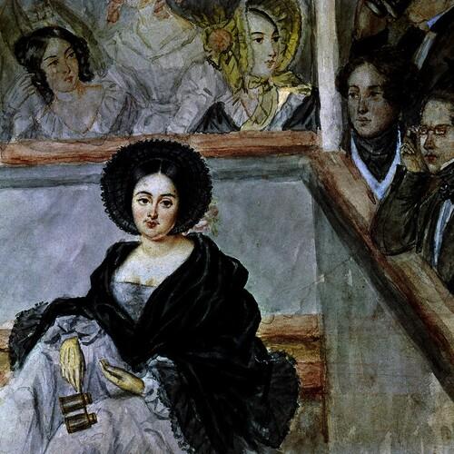 MARIE DUPLESSIS (LA DAME AUX CAMELIAS)