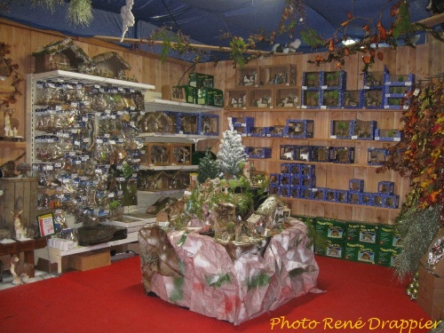 """Le magasin """"Gamm Vert"""" , à Châtillon sur Seine, bien décoré pour les Fêtes..."""