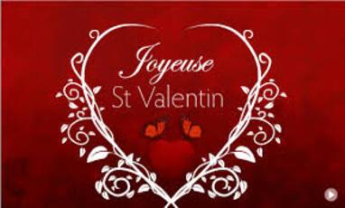 ~~ Saint Valentin : Aimer et partager  de S.Valérie.