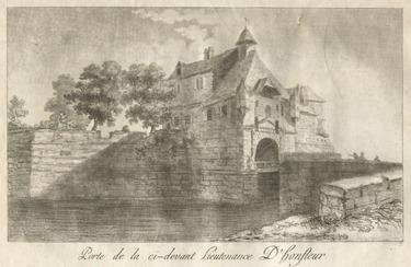 LES REMPARTS D'HONFLEUR (Calvados)