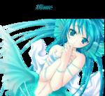 Défi manga bleu