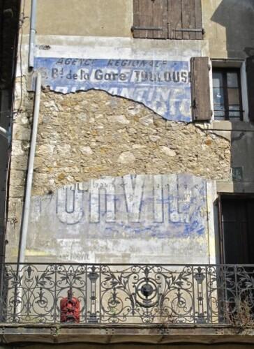 Coursan mur peint Suze Forvil Ca va seul 1