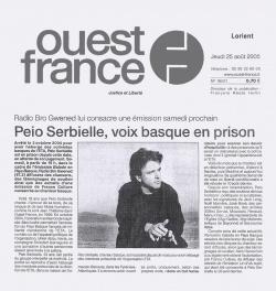 Peio Serbielle, voix basque en prison