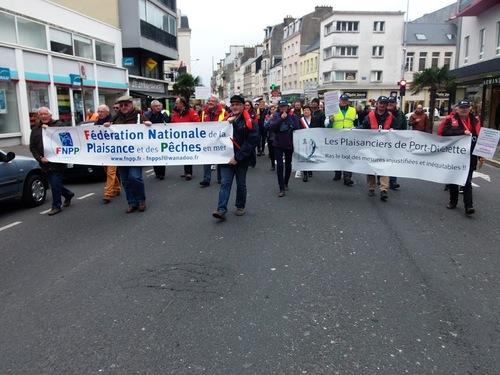 """7 Avril : Diélette bien représenté à la manifestation """" Non au zéro Bar"""""""