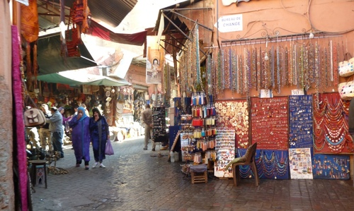Les souks et les artisans