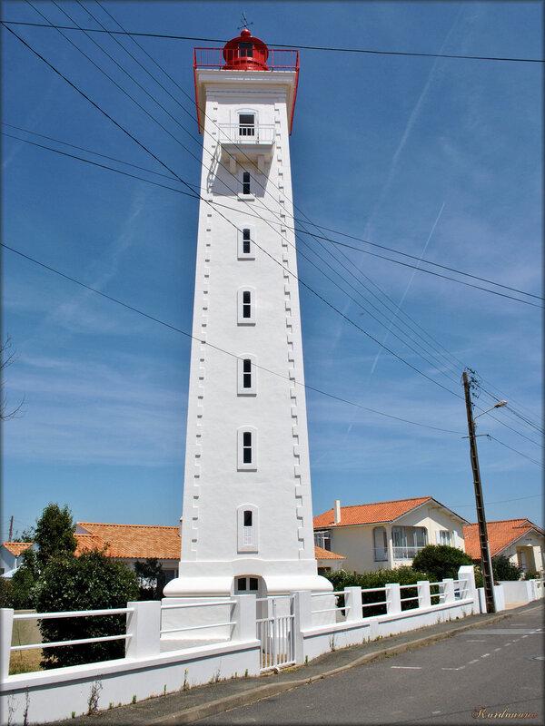 Le phare de Saint-Gilles-Croix-de-Vie