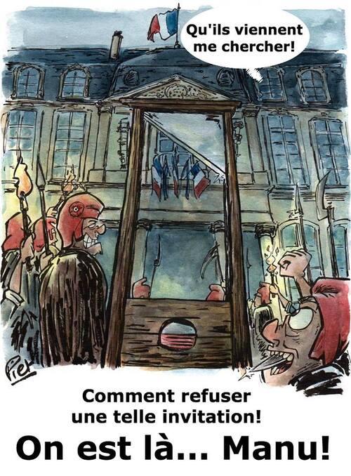 Macron, Lune, timbre, Scialla, etc.. ce sont les infos humoristiques du lundi.