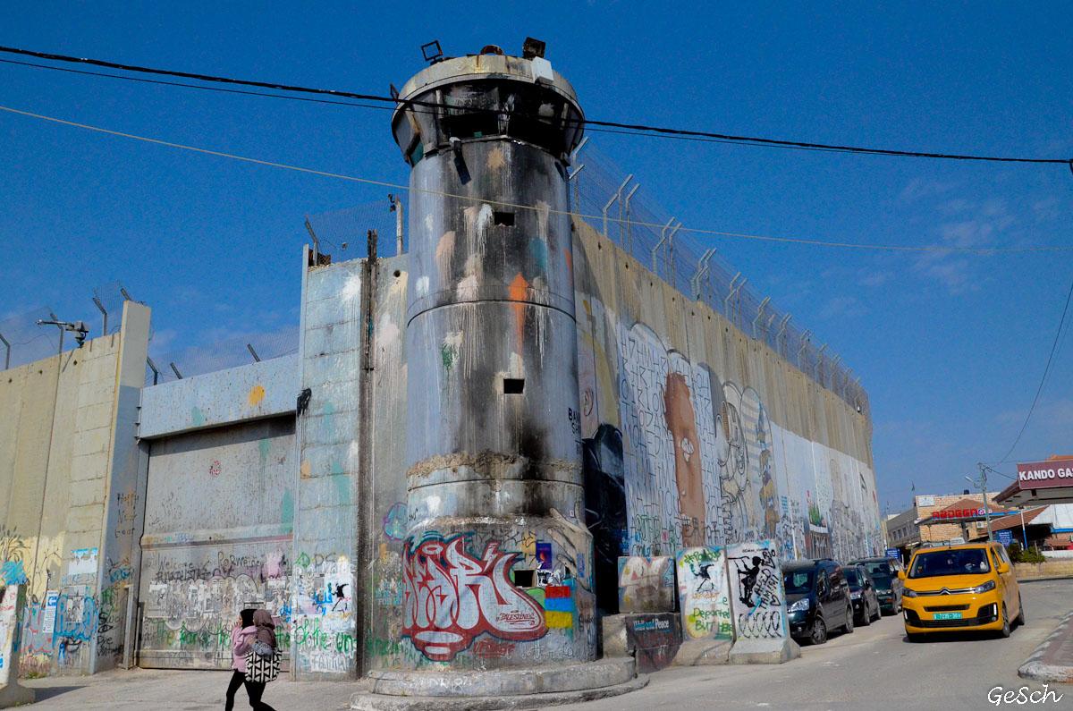 mur bethleem cisjordanie israel