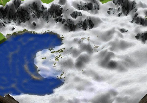 Un exemple de map faite avec l'éditeur d'AoM