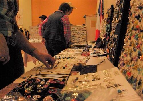 Exposition de mes bijoux country au bal de Joué-les-Tours