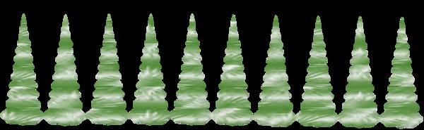 Barres de séparation sapins