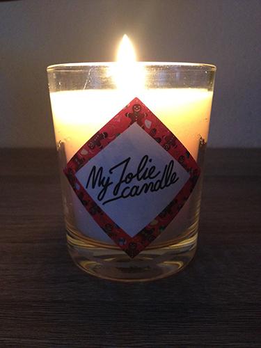 My jolie candle, la bougie avec une surprise dedans