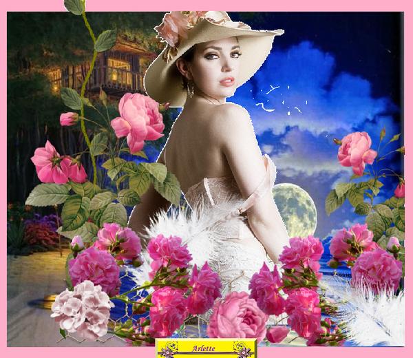 vos créations1 avec le  cluster  : jardin de roses