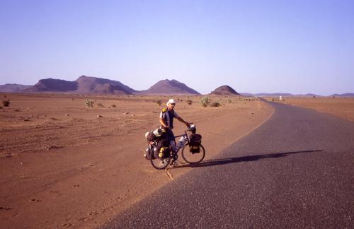 La Mauritanie 50 ° à l'ombre mais il n'y a jamais d'ombre !