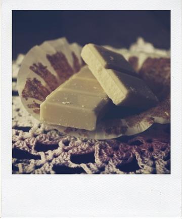 Cupcakes au café et ganache au chocolat blond