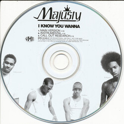 MAJUSTY - I KNOW YOU WANNA (CDS 2000)