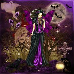 Halloween gothique protège lieu code inclu