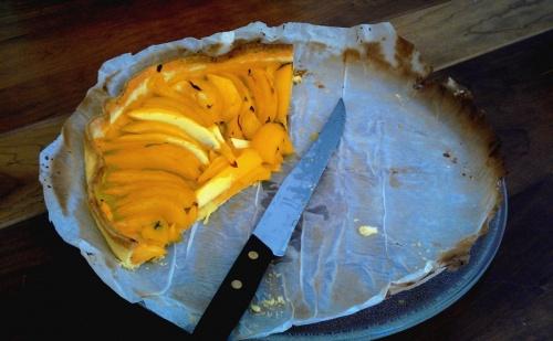 Tarte mangue - citron vert