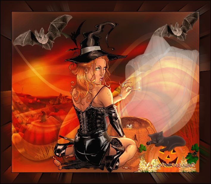 Créations hallowen