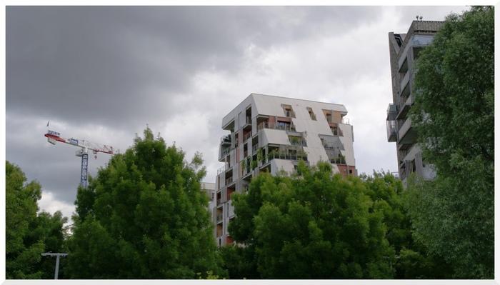 Quartier des Batignolles. Paris