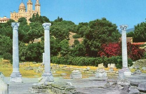 Dans les ruines d'Hippone.