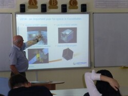 Semaine de la Science: les satellites