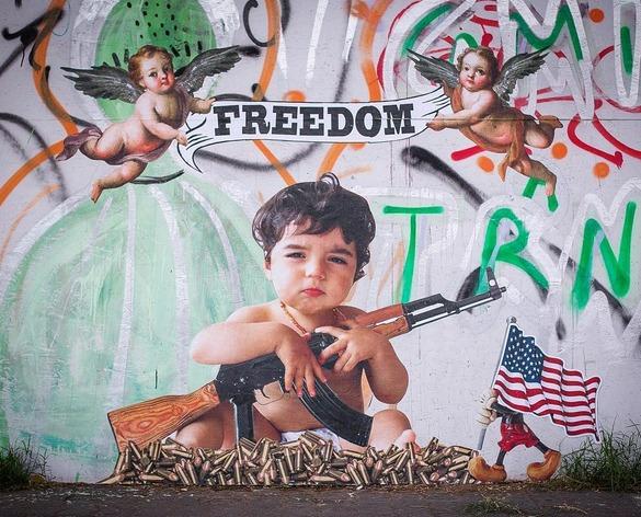 sur les murs... american way of life