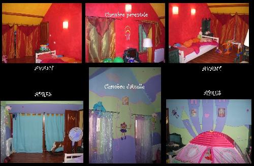 1--> La chambre de petite fille