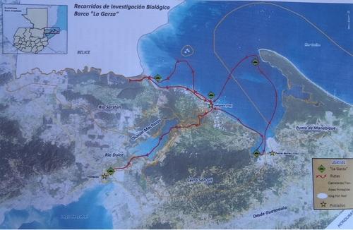 Izabal et la côte caribéenne