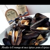 moules orange pain d\'épices