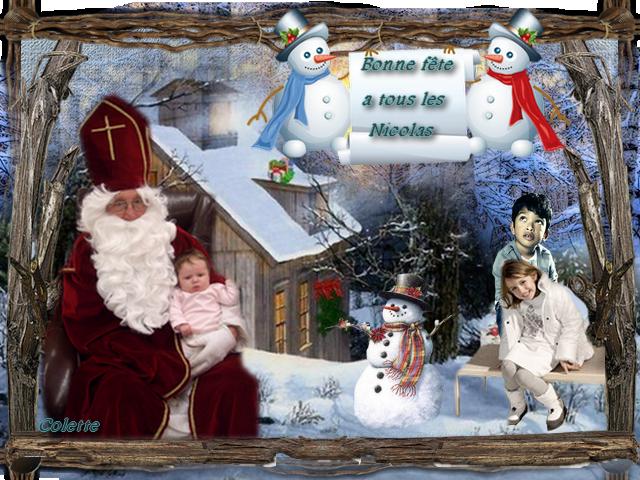Mes montages Noel et hiver