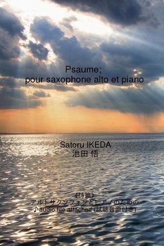 « Psaume ; pour saxophone alto et piano » (livre électronique)