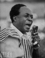 Le discours de Kwame N'krumah