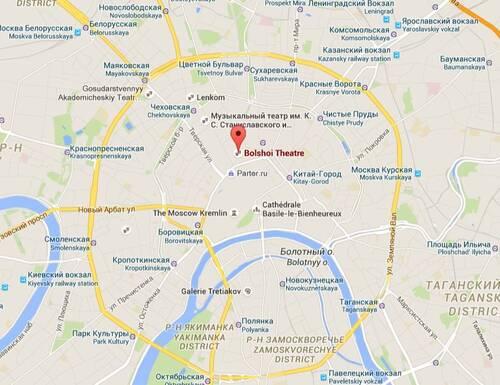 Croisière Russie- Jour 8- MOSCOU- suite 6- Spectacle au Bolchoi