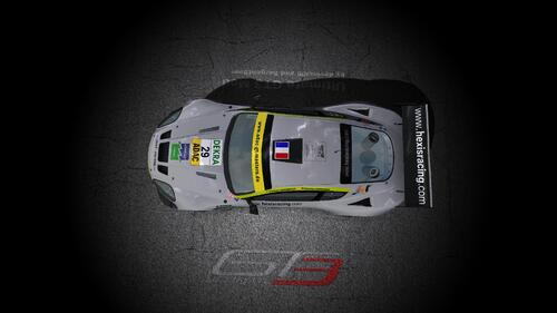 Team Hexis Racing Aston Martin DBRS9
