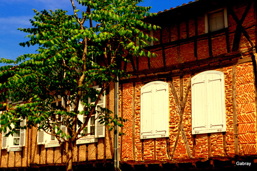 Sorèze: des façades … n 3