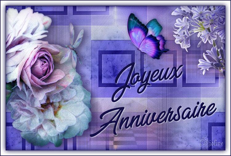 Merci pour vos voeux d'anniversaire