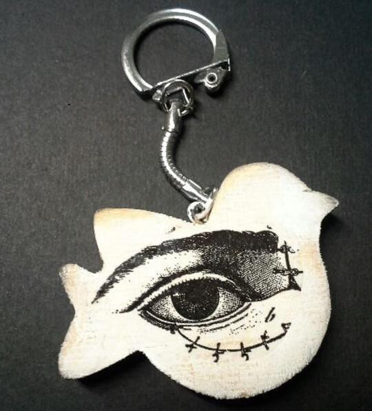 Porte clés bizarres...
