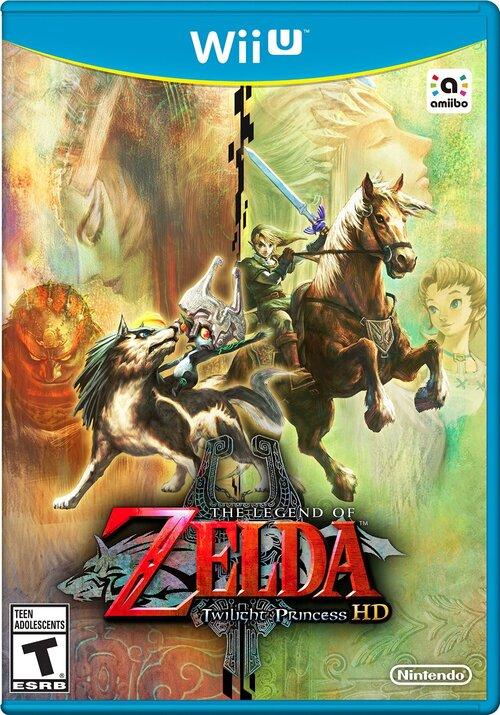 Zelda twilght princess hd confirmé pour la wii u !