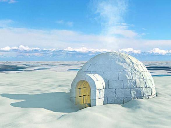"""Résultat de recherche d'images pour """"igloo pole nord"""""""