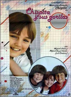 Чиспита и ее телохранители / Chispita y sus gorilas. 1982.