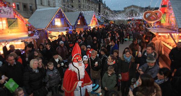 Nancy :  le Village de saint Nicolas a ouvert ses portes  ...