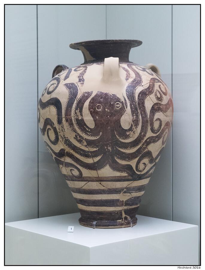 Vase au poulpe