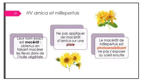 Une conférence passionnante de Marie-Alexandra Solari sur les huiles essentielles a eu lieu au lycée de la Barotte