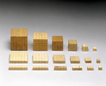 Dienes Multi-base blocks - Science Museum Group (cc)
