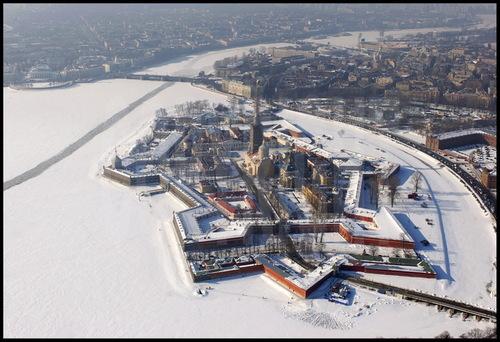 Croisière Russie- N°2- St Petersbourg- jour 1 - La forteresse Pierre et Paul