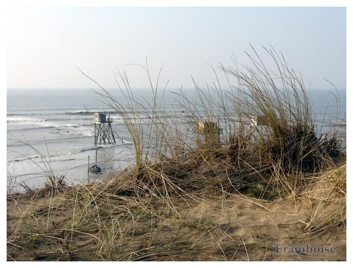 Sur la plage abandonnée ....